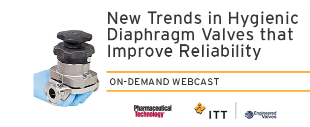 New Trends in Hygienic Diaphragm Valves that Improve Reliability