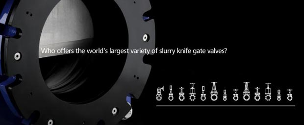 The World's Largest Variety of Slurry Knife Gate Valves