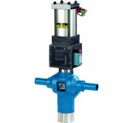 Skotch Burner Shut-off Valve for Gas-Fired Systems